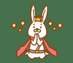 Brave rabbit (EN) sticker #5789737