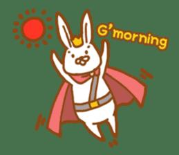Brave rabbit (EN) sticker #5789738