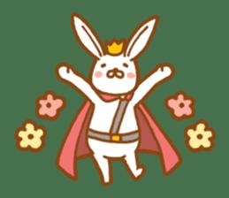 Brave rabbit (EN) sticker #5789740