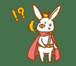 Brave rabbit (EN) sticker #5789745