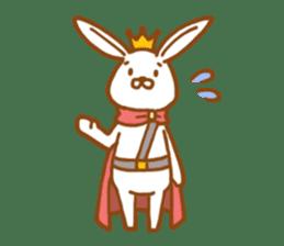 Brave rabbit (EN) sticker #5789746
