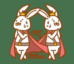 Brave rabbit (EN) sticker #5789747