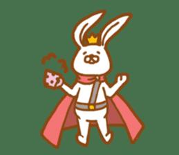 Brave rabbit (EN) sticker #5789748
