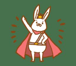 Brave rabbit (EN) sticker #5789751