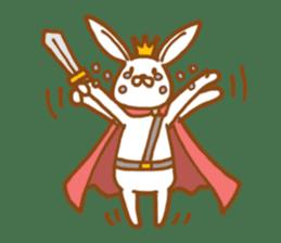 Brave rabbit (EN) sticker #5789754