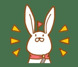 Brave rabbit (EN) sticker #5789757
