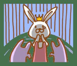 Brave rabbit (EN) sticker #5789759