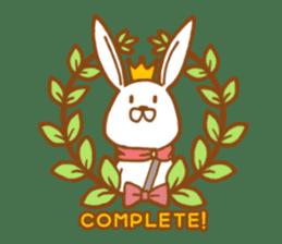 Brave rabbit (EN) sticker #5789762
