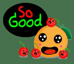 Fruity fun sticker #5790038