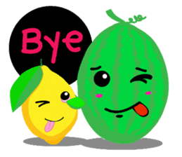 Fruity fun sticker #5790040