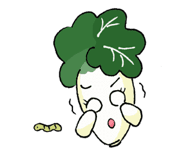 Little Jade Cabbage sticker #5792365