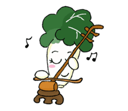 Little Jade Cabbage sticker #5792369