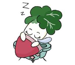 Little Jade Cabbage sticker #5792385