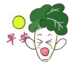 Little Jade Cabbage sticker #5792395