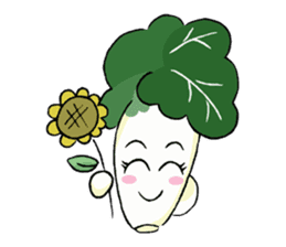 Little Jade Cabbage sticker #5792400