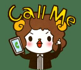 Say hello! sticker #5793560