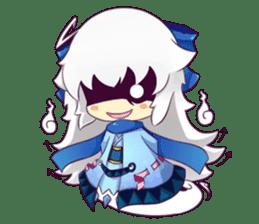 Lunar and Friends sticker #5795116