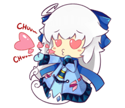 Lunar and Friends sticker #5795117