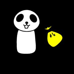 Panda of the having no money