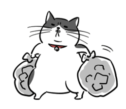 A couple of stray cats part 2 sticker #5797370