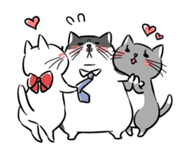 A couple of stray cats part 2 sticker #5797388