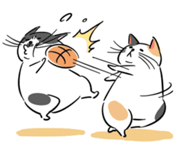 A couple of stray cats part 2 sticker #5797394