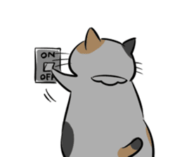 A couple of stray cats part 2 sticker #5797402