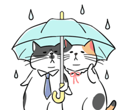 A couple of stray cats part 2 sticker #5797403