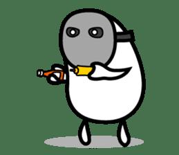 Hot Dog Man Cute Version : Opposition sticker #5797526