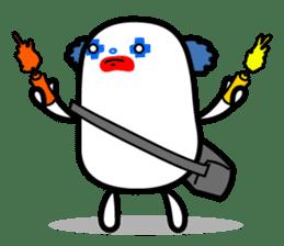 Hot Dog Man Cute Version : Opposition sticker #5797529