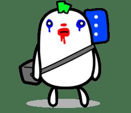 Hot Dog Man Cute Version : Opposition sticker #5797532