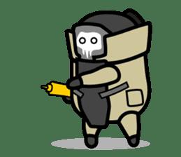 Hot Dog Man Cute Version : Opposition sticker #5797534