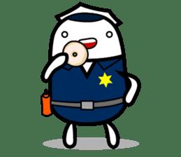 Hot Dog Man Cute Version : Opposition sticker #5797538