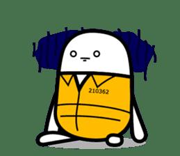 Hot Dog Man Cute Version : Opposition sticker #5797545