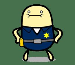 Hot Dog Man Cute Version : Opposition sticker #5797546