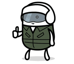 Hot Dog Man Cute Version : Opposition sticker #5797547