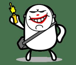 Hot Dog Man Cute Version : Opposition sticker #5797549