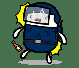 Hot Dog Man Cute Version : Opposition sticker #5797551