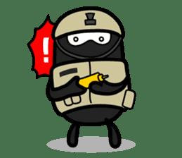 Hot Dog Man Cute Version : Opposition sticker #5797553