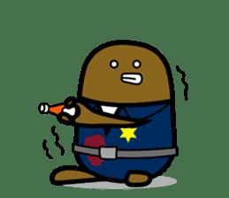 Hot Dog Man Cute Version : Opposition sticker #5797554