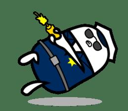 Hot Dog Man Cute Version : Opposition sticker #5797558