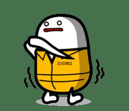 Hot Dog Man Cute Version : Opposition sticker #5797561