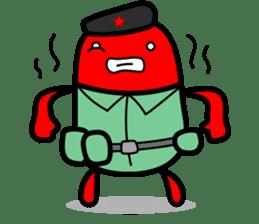 Hot Dog Man Cute Version : Opposition sticker #5797562