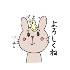 U Taro everyday of rabbit change edition sticker #5798044