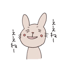 U Taro everyday of rabbit change edition sticker #5798050