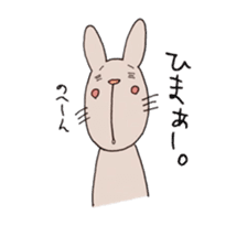 U Taro everyday of rabbit change edition sticker #5798051