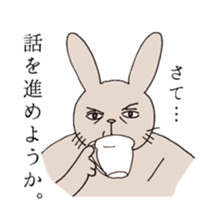U Taro everyday of rabbit change edition sticker #5798059