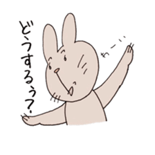 U Taro everyday of rabbit change edition sticker #5798077