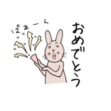 U Taro everyday of rabbit change edition sticker #5798081