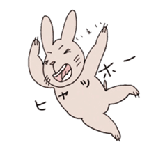 U Taro everyday of rabbit change edition sticker #5798082